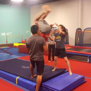 Adult Gymnastics and Tumbling Classes in New Braunfels
